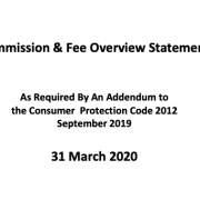 Commission & Fee Overview Statement